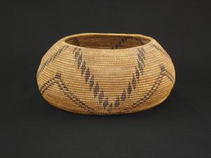 A Maidu basket