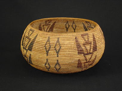 mono paiute native american indian baskets basketry